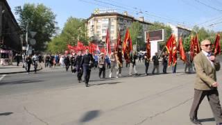 Видео ПН: Первомайское шествие коммунистов. Николаев(, 2014-05-01T08:12:06.000Z)