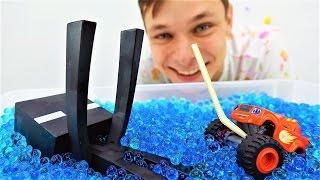 Смотреть #Вспыш и игрушки Майнкрафт: Вспыш убегает от Эндермена! Видео для мальчиков.