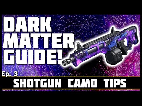 Shotgun Diamond Camo Tips! | Dark Matter Guide! Ep. 3
