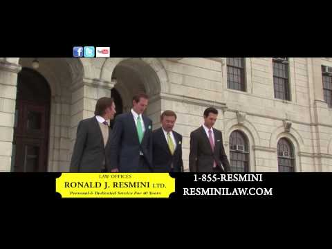 Personal Injury Lawyer, Attorney Ronald J. Resmini, Law Offices LTD, (401) 751-8855, Providence, RI