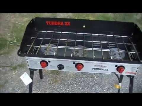Camp Chef Tundra 3X 3 Burner Stove