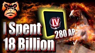 280 AP I Make 6 Bil an Hour... and Spent 18 billion | TET Ogre, Vells Heart, TET Eye of the Ruins