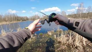 Первая Джерковая Рыбалка 2021 Ловля на Джерк Весной