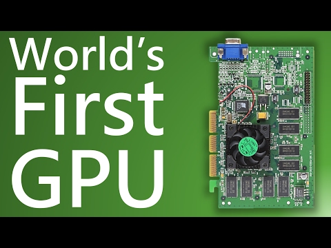 Nvidia GeForce 256 - World's first GPU and GeForce graphics card