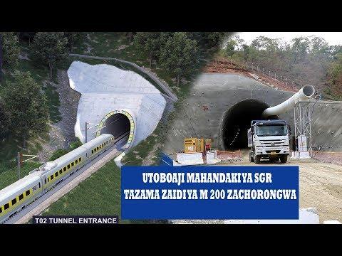 SGR TANZANIA-SHUHUDIA MITA ZAIDI YA 200 ZILIZOCHORONGWA NDANI YA HANDAKI HILI,NI ZAIDI YA UTALII