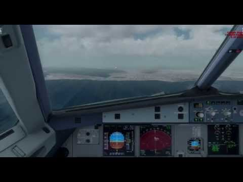 Lufthansa A320 - DLH1748 - Landing In Tunisia DTTA With Stormy Weather