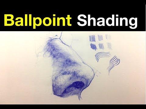 Simple Line Exercises | Ballpoint Pen Shading Tips Pt 3