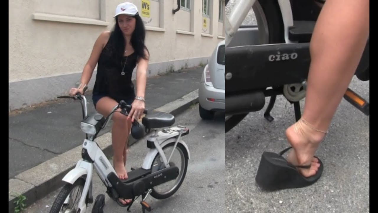 ⚡️ The Piaggio Ciao comes out of hibernation | Starring Miss Black Mamba | Pedal Vamp Pedal Pumping
