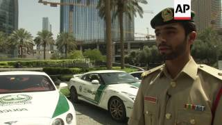Dubai Police fleet of luxury sports cars