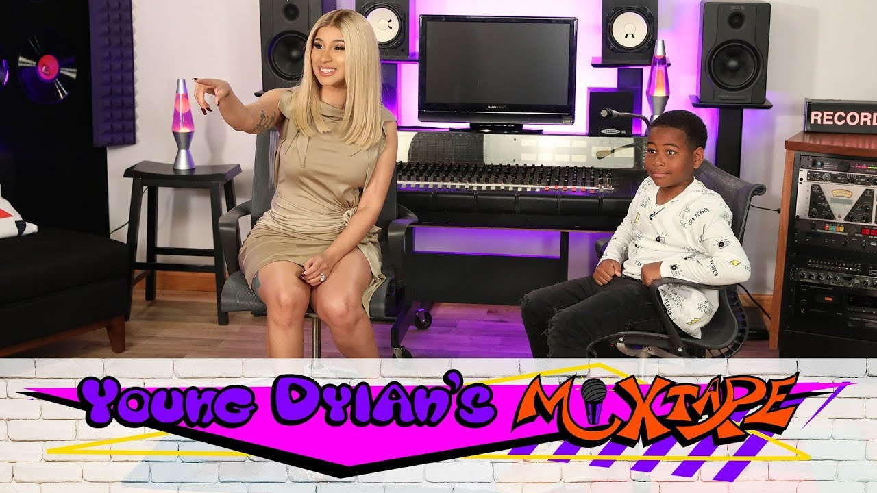 Young Dylan's Mixtape: Cardi B Gives Young Dylan Advice About Growing Up a Rapper