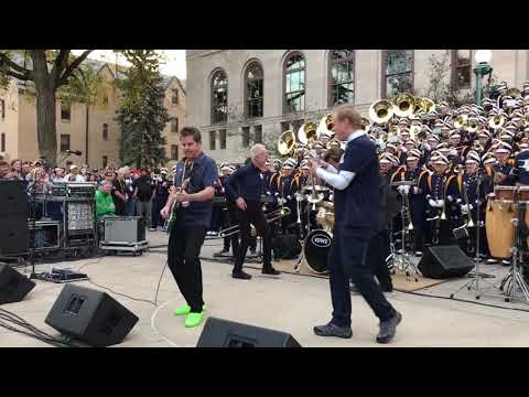Chicago with Notre Dame Marching Band  25 or 6 to 4 Oct 2017