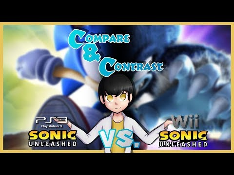 Sonic Unleashed (PS3) Vs. (Wii) - Compare & Contrast