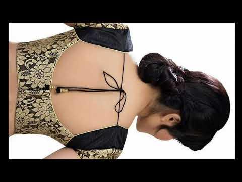 indian designer wear saree blouses