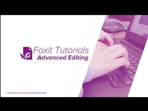 How To Apply Advanced Editing On PDF Documents