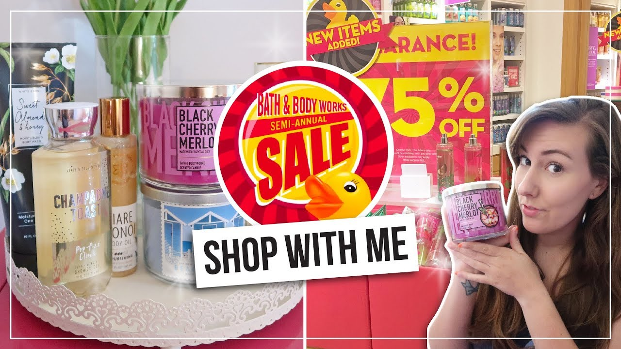 Bath & Body Works' Semi-Annual Sale Offers Candles For Just $10.50