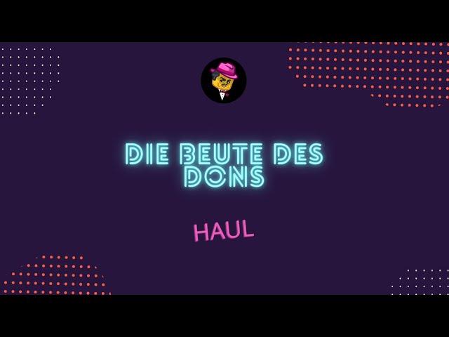 Des Dons Klemmbaustein-Beute   Haul vom 24. April 2021