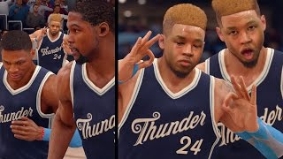 NBA LIVE 16 Rising Star - 1st ANKLE BREAKER!! Christmas Day Game!!