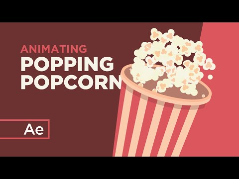 How to Animate Popping Popcorn With Random Expressions - After Effects Tutorial