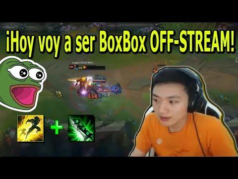 Mira Como Juega BOXBOX Cuando No Tiene Distracciones - Subtitulos en Español