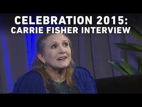 Carrie Fisher Interview with StarWars.com | Star Wars Celebration Anaheim