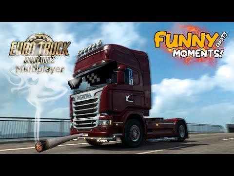 Euro Truck Simulator 2 Multiplayer Funny Moments & Crash Compilation #82