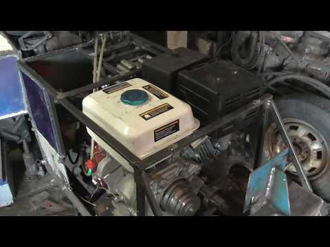 Первый пуск двигателя. Минитрактор 13 сил. #22