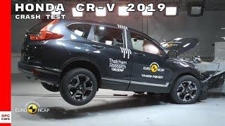 Honda CR-V Crash Test & Rating 2019