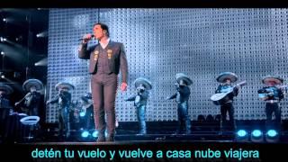 Alejandro fernandez - nube viajera en vivo (hd 1920 con letra by hbk)
