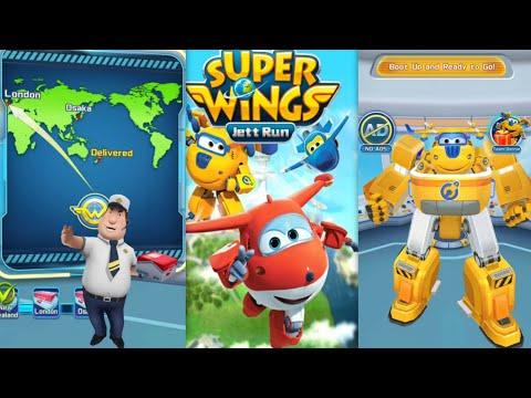 Super Wings Jett Run[Ep.5] : DONNID Run- London - Gameplay
