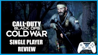 COD Black Ops Cold War Single Player Campaign Review (Video Game Video Review)