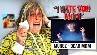 REACTING to MORGZ'S DISS TRACK on ME! (Dear Mom)