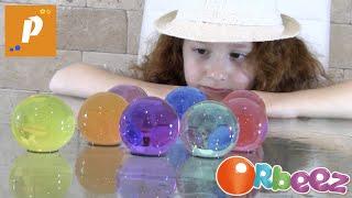 Огромные орбизы выращиваем играем гигантскими полимерные шарики Polymer Balls ,giant orbeez for kids