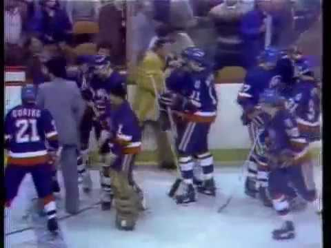 Bob Bourne Overtime Goal Game 2 1980 Stanley Cup Quarterfinal Islanders at Bruins WOR-TV