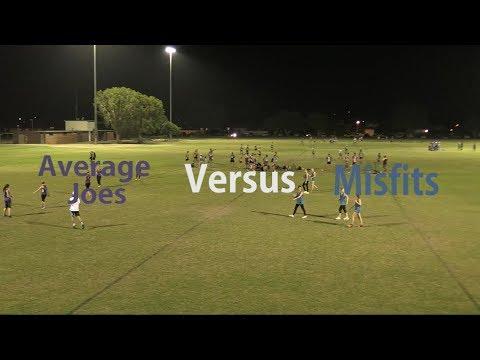 Round 8 - Division 2 Women's - Average Joes Versus Misfits