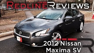 2012 Nissan Maxima SV Review, Walkaround, Exhaust, & Test Drive