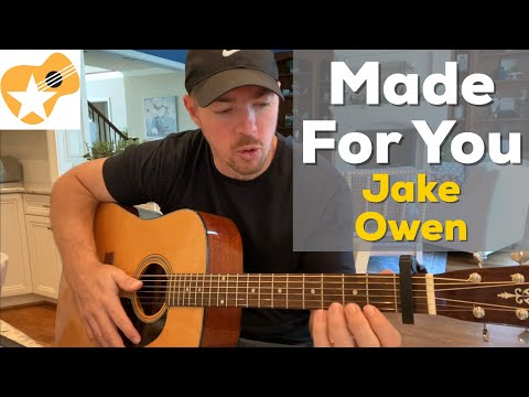 Made For You  Jake Owen  Beginner Guitar Lesson