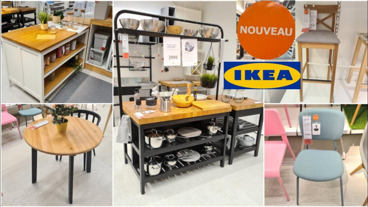 Ikea Nouveautes Ilot Cuisine Desserte Table Mange Debout Tabouret De Bar 09 06 21 Ikea France Youtube