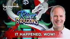 River Dragons Slot - BIG WIN BONUS, AWESOME!