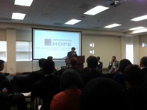 VideoBuzz Thomas Curry on Community Reinvestment  #HopeForum