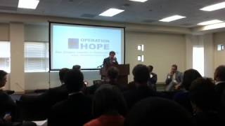 VideoBuzz Thomas Curry on Community Reinvestment  #HopeForum