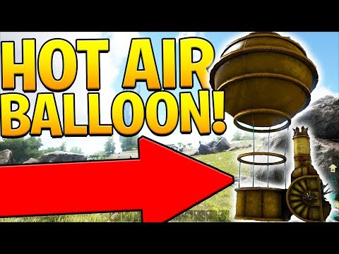 HOT AIR BALLOON SURFACE EXPLORATION - ARK SURVIVAL EVOLVED ABERRATION EXPANSION #14