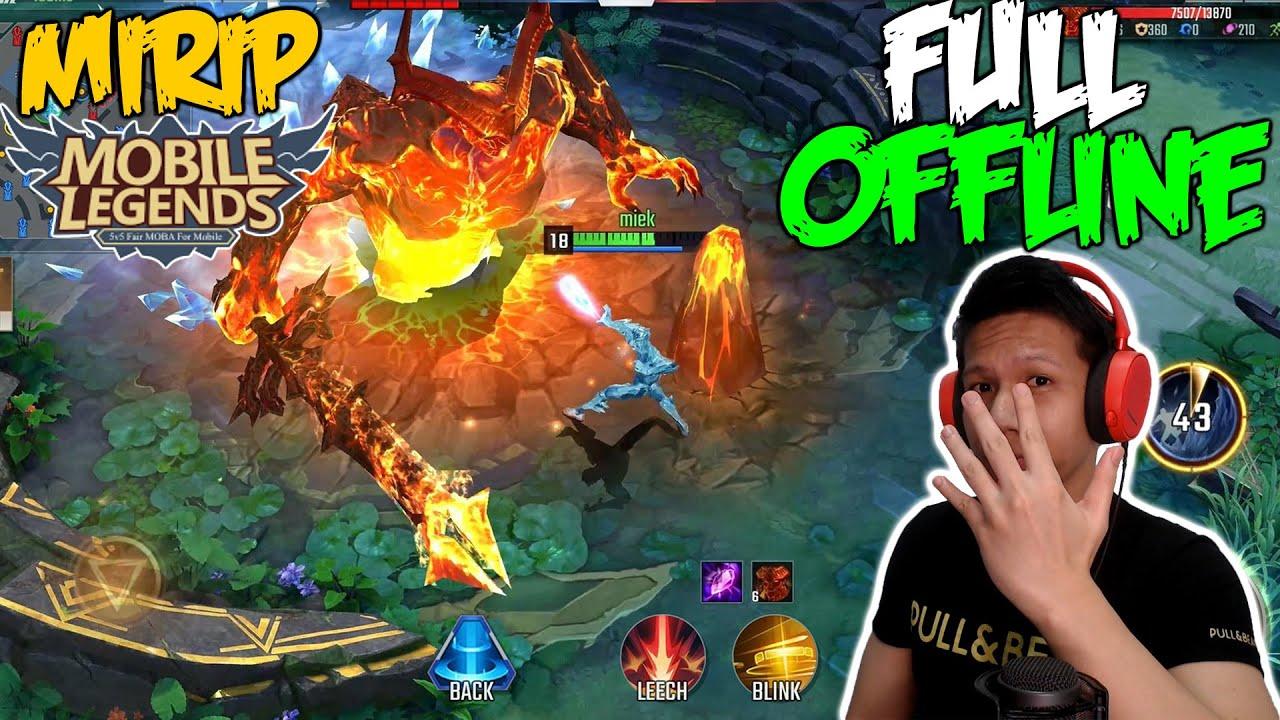 5 Game Offline Mirip Mobile Legends Di Android Terbaru 2020 Youtube
