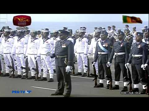 68th National Independence Day Celebration of Sri Lanka - Live from Galle Face, Colombo - 2016-02-04