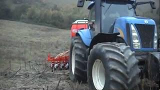 GASPARDO GIGANTE NEW HOLLAND SEMINA SU SODO Combined seed drill