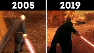 Count Dooku 2005 vs 2019 Version! Old vs New Comparison, Then and Now! - Star Wars Battlefront 2