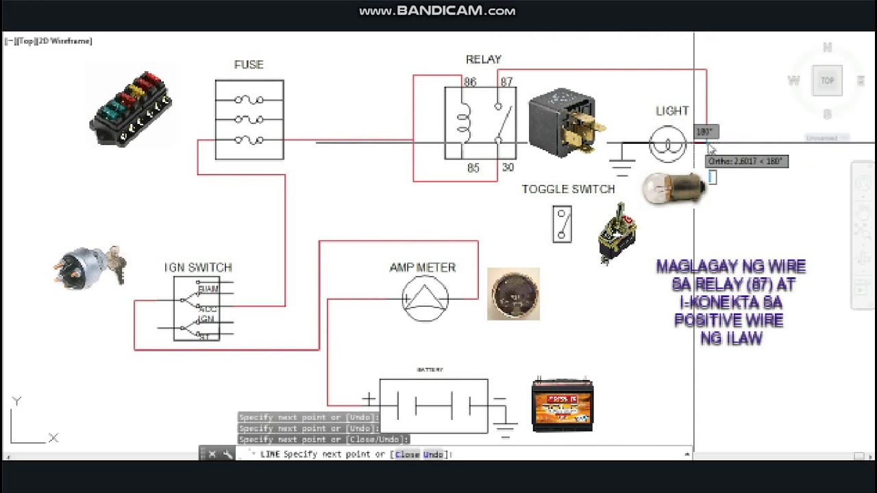 Negative Trigger Relay Wiring Diagram