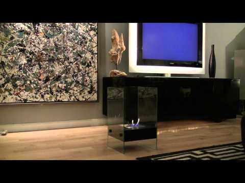 Anywhere Fireplace Hudson Model.mts