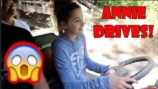 Annie Drives! 😱 (WK 334.5) | Bratayley