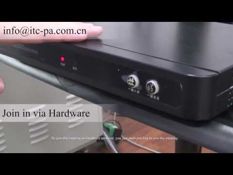 ITC Video Conference System Demo Video