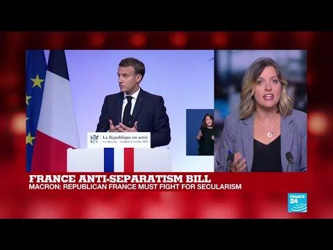 Macron unveils anti-separatism bill aimed at promoting secularism